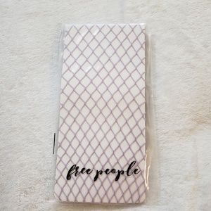 Free People Lavender Libby Fishnet Tights